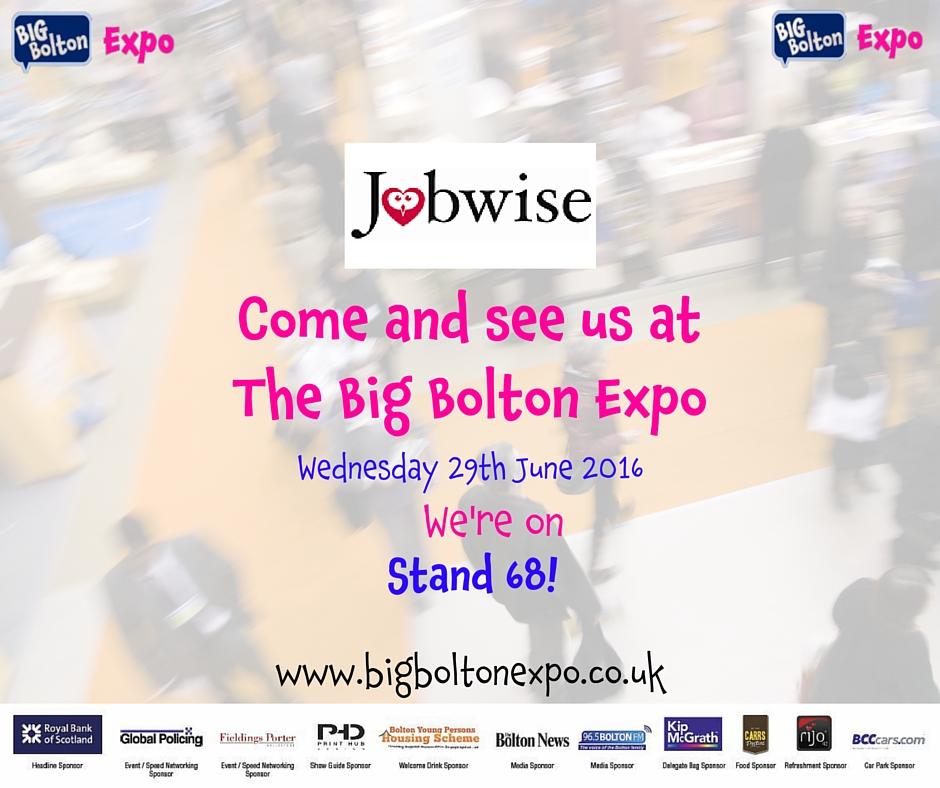 Jobwise Bolton Expo 2016
