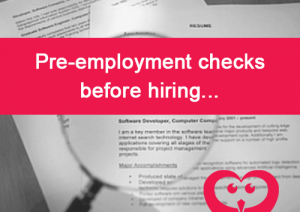 Pre employment checks before hiring - Jobwise