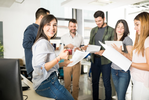 Using business culture to attract talent